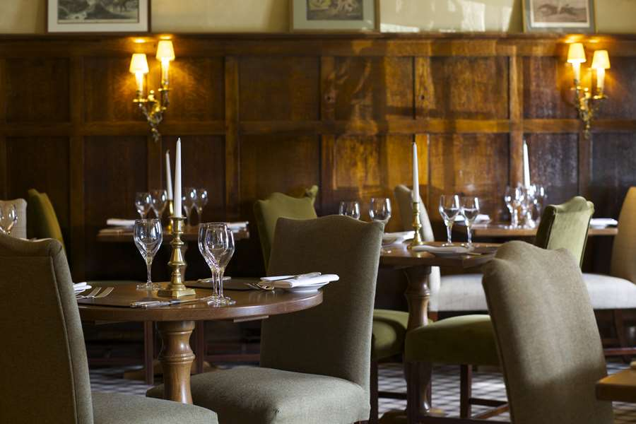 The oak panelled room