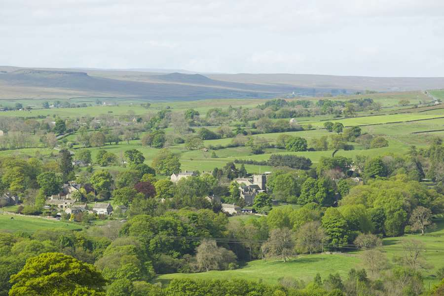 Romaldkirk from a far